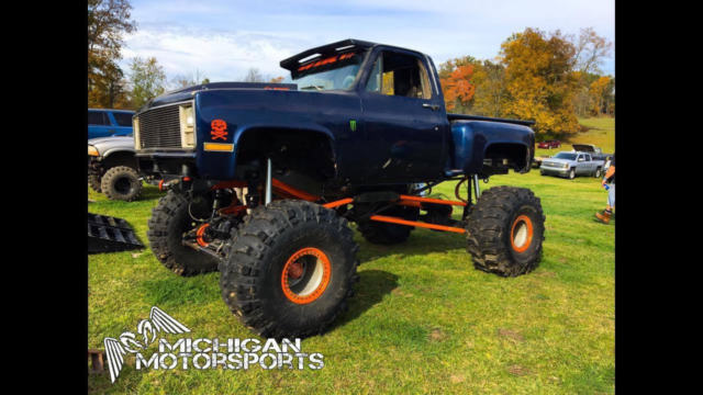 chevy mega truck 73 short box chevy 4x4 for sale - Chevrolet Other