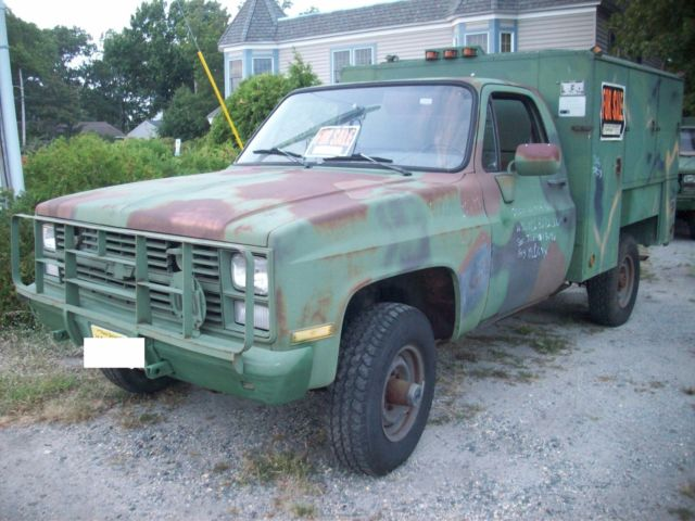 chevy military M1028 utility truck 4wd 1ton for sale