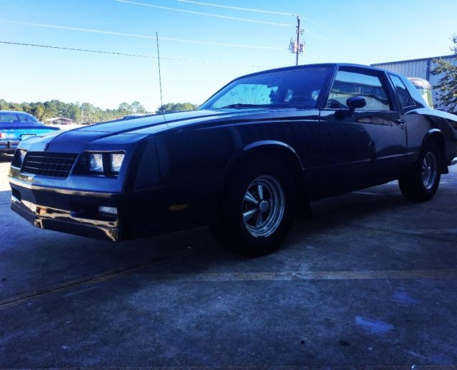 chevy monte carlo ss for sale chevrolet monte carlo ss 1985 for sale in elkton florida. Black Bedroom Furniture Sets. Home Design Ideas