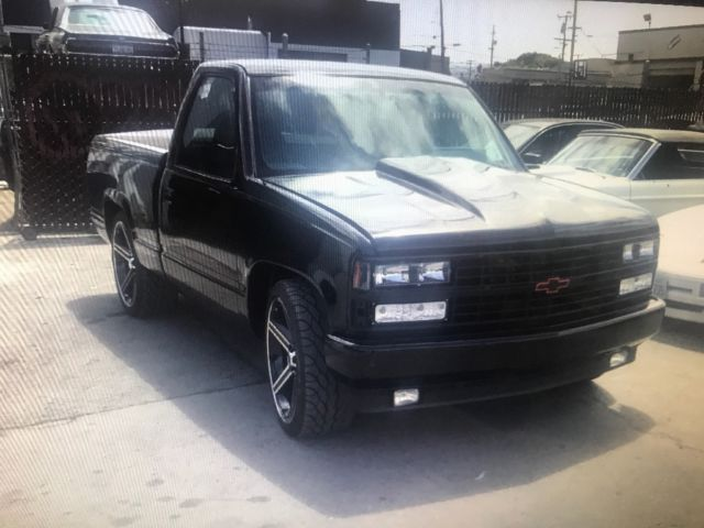 chevy pick up ss 454 for sale chevrolet c k pickup 1500 1993 for sale in richmond california. Black Bedroom Furniture Sets. Home Design Ideas