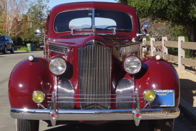 Classic 1940 Packard 120 Touring Sedan For Sale