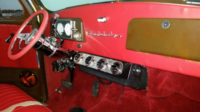 Classic 1953 Studebaker Pickup R6 Hot Rod Retromod Sl