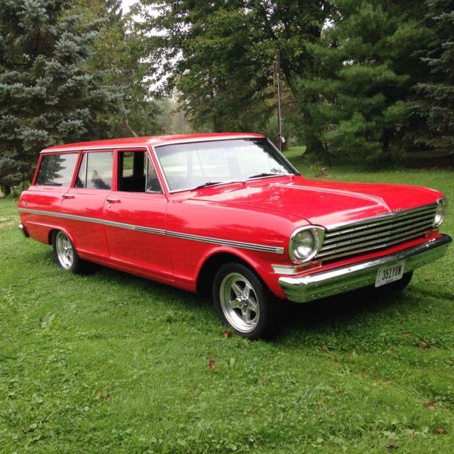 classic 1963 nova wagon fully restored vintage muscle car from oregon 27 500 for sale. Black Bedroom Furniture Sets. Home Design Ideas