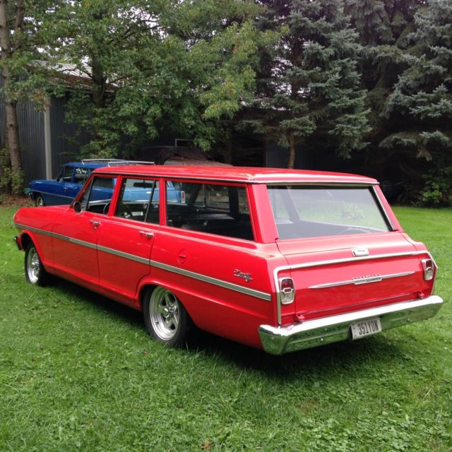 Classic 1963 Nova Wagon Fully Restored Vintage Muscle Car