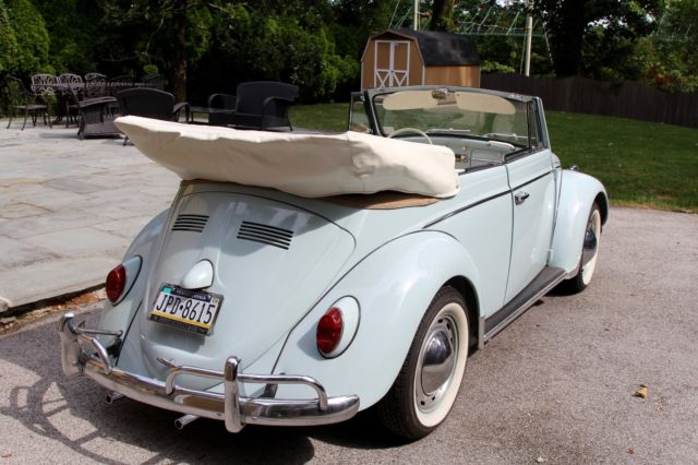 classic 1963 vw beetle convertible for sale volkswagen beetle classic 1963 for sale in bryn. Black Bedroom Furniture Sets. Home Design Ideas