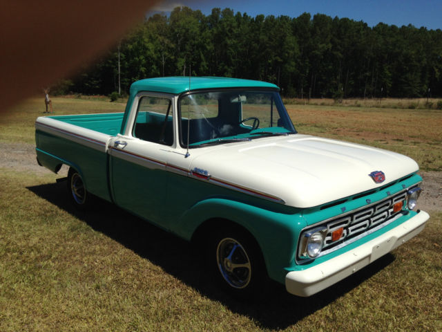 classic 1964 ford f100 short bed for sale ford f 100 1964 for sale in mccormick south. Black Bedroom Furniture Sets. Home Design Ideas