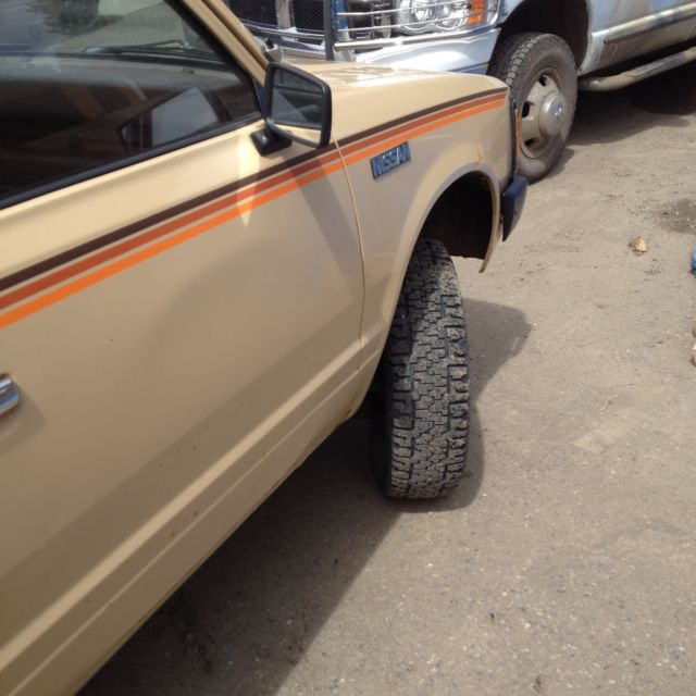 Classic 1984 datsun nissan 4x4 pickup model 720 for sale for Colorado springs motor vehicle registration