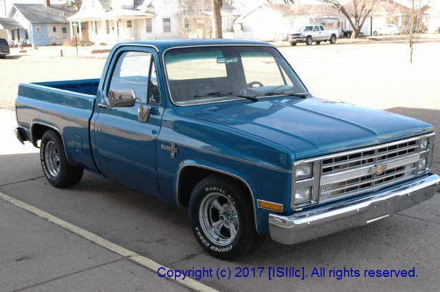 classic 1986 chevy silverado c10 pickup 2 wheel drive. Black Bedroom Furniture Sets. Home Design Ideas