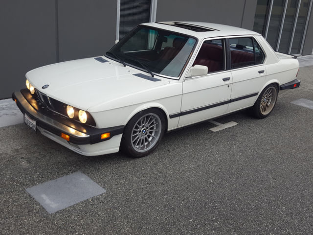 classic 1988 bmw 535i 99 9 rust free california e28 with 535is extras for sale bmw 5 series. Black Bedroom Furniture Sets. Home Design Ideas
