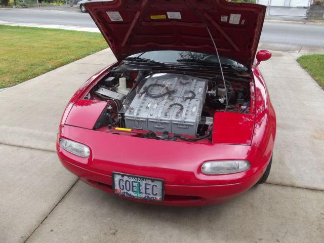 Classic 1990 Mazda Miata convertible hard top converted to