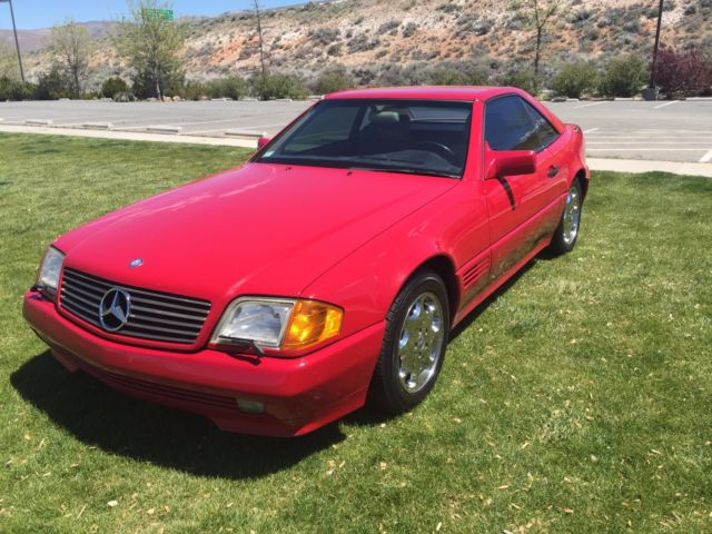 Classic 1994 mercedes benz sl500 convertible hardtop for for Mercedes benz sl convertible for sale