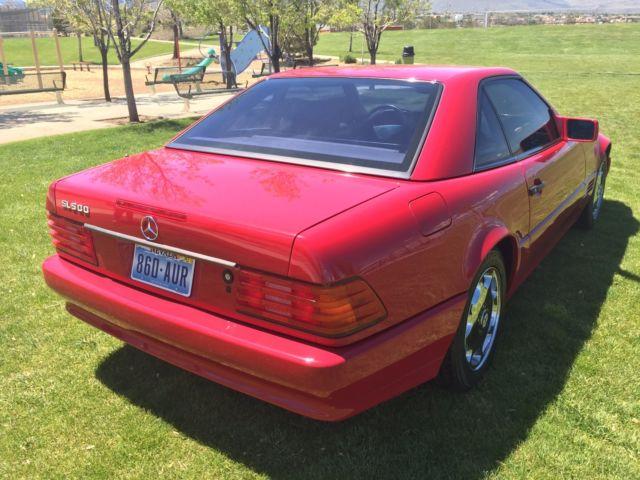 Classic 1994 mercedes benz sl500 convertible hardtop for for Mercedes benz hardtop convertible