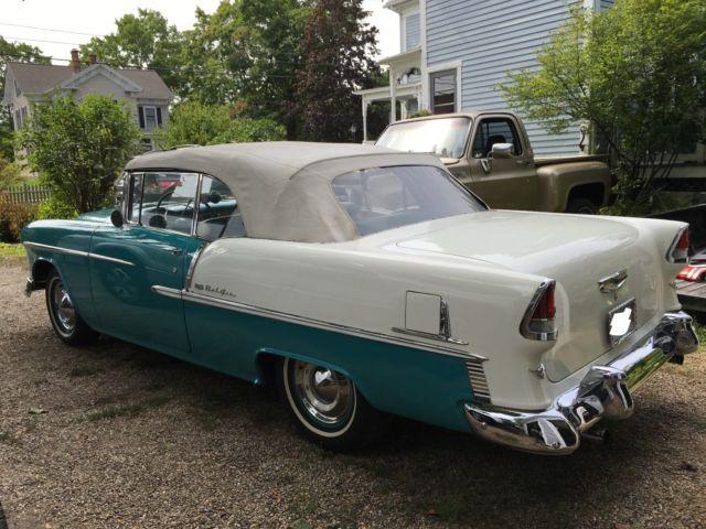 Classic Cars In Ebay Motors For Sale Chevrolet Bel Air 150 210 1955 For Sale In Spencer Massachusetts United States