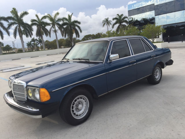 Classic W123 1985 Mercedes Benz 300D Turbodiesel Well Maintained