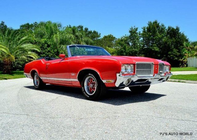 CLEAN CONVERTIBLE 350 ROCKET AUTOMATIC AIR CONDITION, POWER