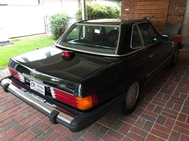 clean mercedes benz 86 560sl for sale mercedes benz sl class 1986 for sale in new orleans. Black Bedroom Furniture Sets. Home Design Ideas