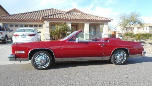 Clear Title Car Has Under Original Miles on Cadillac Eldorado 1981 368 Engine