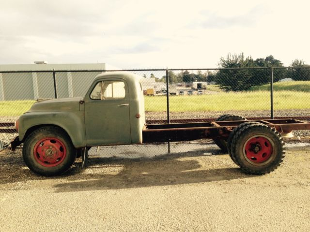 Completely original 1949 studebaker 2r 16 bare chassis dually truck pto 1 5 ton for sale