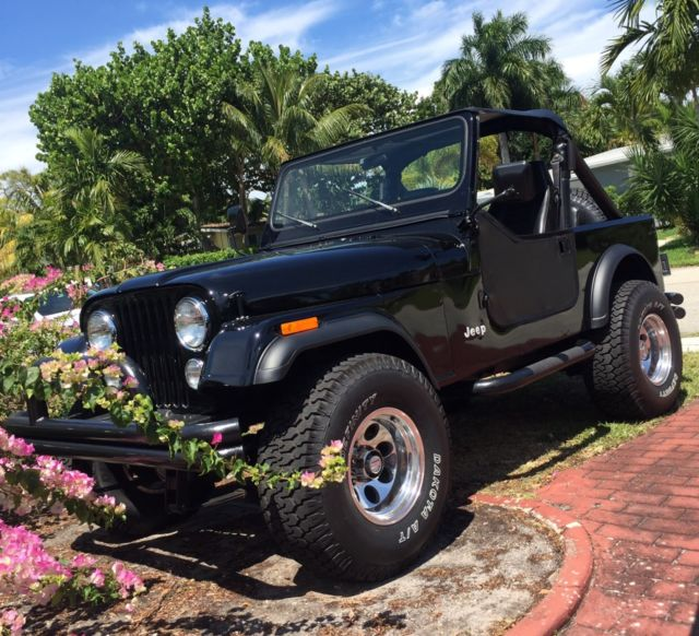 Completely Restored 1984 Jeep CJ7!! Pictures Speak For