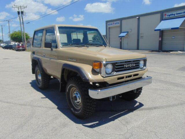 Completely Restored Toyota Land Cruiser 70 Series Year 1993