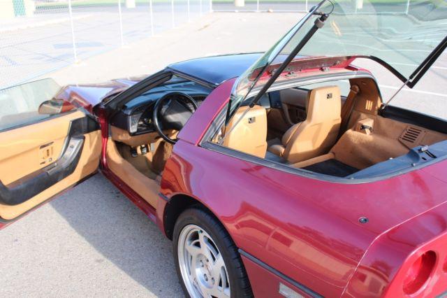Corvette C4 6 Speed Manual 1990 Runs Great Stock Delco