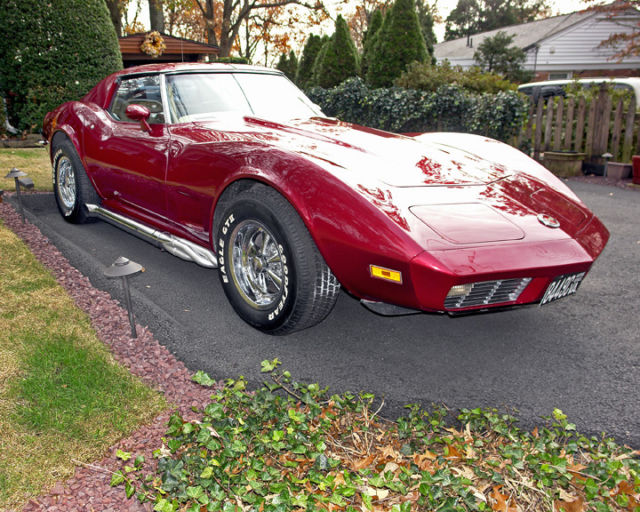 Corvette Stingray 1973 with 1970 Corvette LT-1 Engine for
