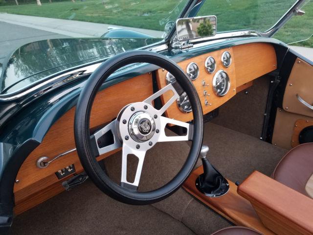 Custom 1952 Jaguar XK120 w/only 5000 miles Chevy 350/350