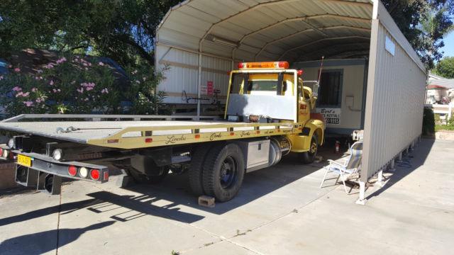 Custom 1956 Ford Flat Bed Tow Truck For Sale Ford Other 1956 For Sale In El Cajon California