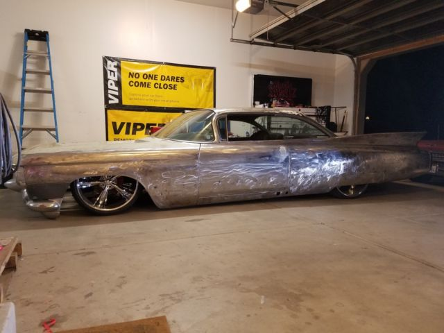 Custom 1960 Cadillac Streetrod Hotrod Or Rat Rod Bagged