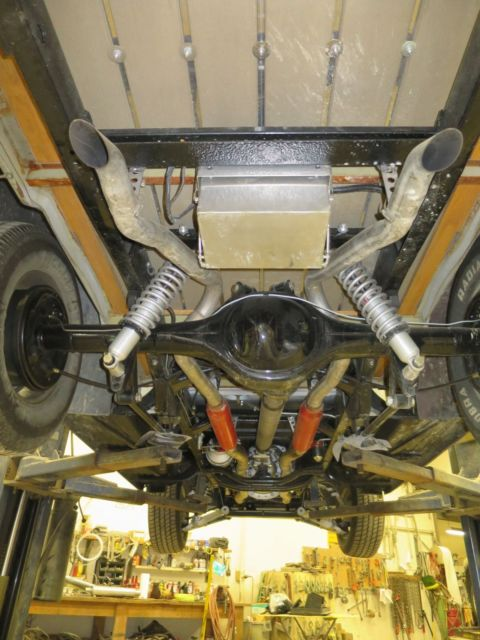 Street Rod Front Axle : Custom ford f street rod pickup w motor and c front