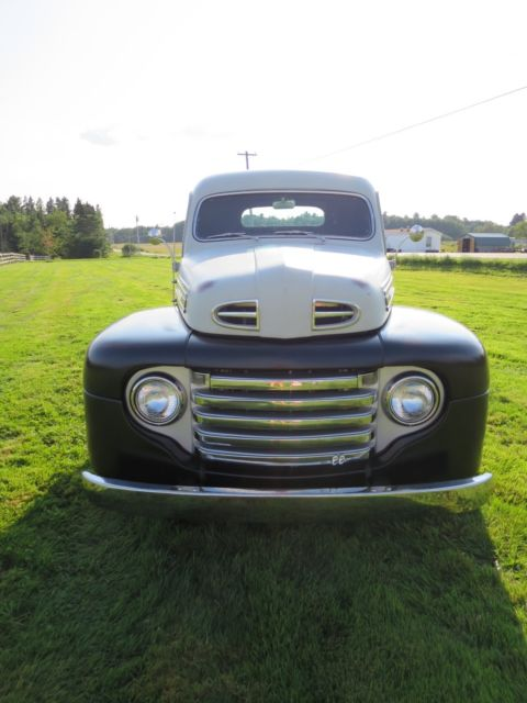 Custom ford f1 street rod pickup w 350 motor and c4 front for Ford truck motors for sale