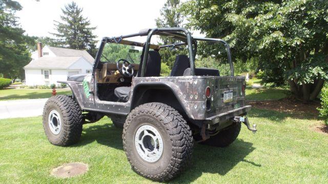 custom one of a kind jeep for sale jeep wrangler 1988 for sale in lancaster pennsylvania. Black Bedroom Furniture Sets. Home Design Ideas