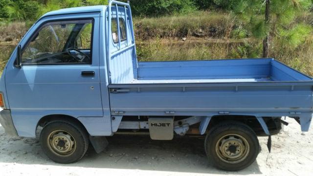 Daihatsu Hijet Mini Truck 4WD Road Legal, Low Miles Good