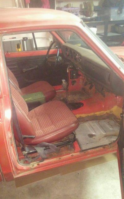 Datsun 620 pickup, Weber carb, A87 head, L18 block, Rebuilt