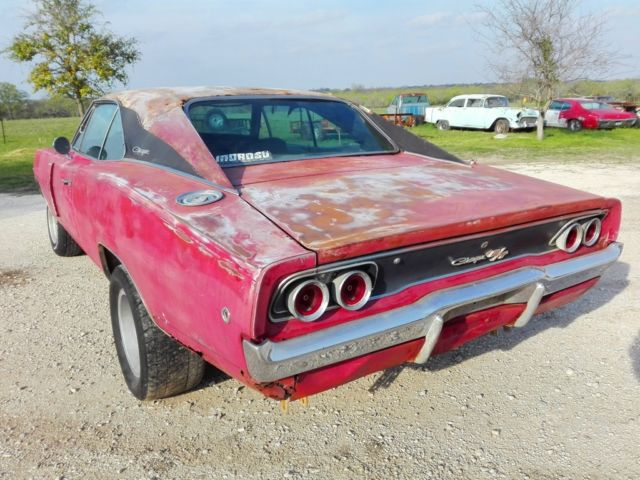 Dodge Charger 68 Rt Clone Solid Project A C Car Free