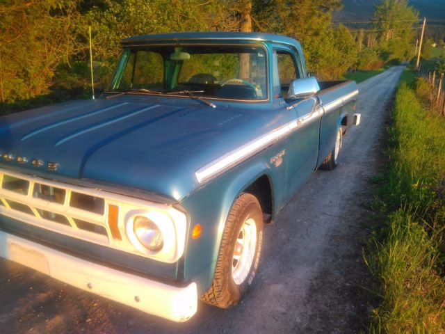 dodge d100 sweptline for sale dodge other pickups 1968 for sale in missoula montana united. Black Bedroom Furniture Sets. Home Design Ideas