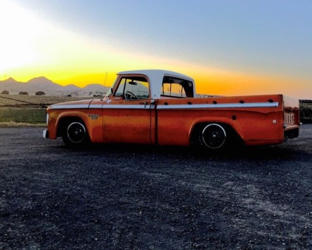 Dodge D100 Sweptline Custom Cab Shortbed Big Block IFS 4 link Rare! Mopar for sale - Dodge Other ...