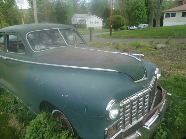 Dodge deluxe 1948 4 door sedan for sale dodge deluxe for 1948 dodge deluxe 4 door
