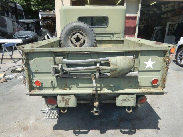 Dodge Power Wagon M37 3/4 Ton Cargo Truck Army Military 4x4 4 Speed