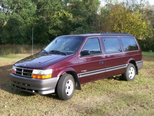 Used Cars Charleston Sc >> DODGE SPORT CARAVAN 1993 for sale - Dodge Grand Caravan ...