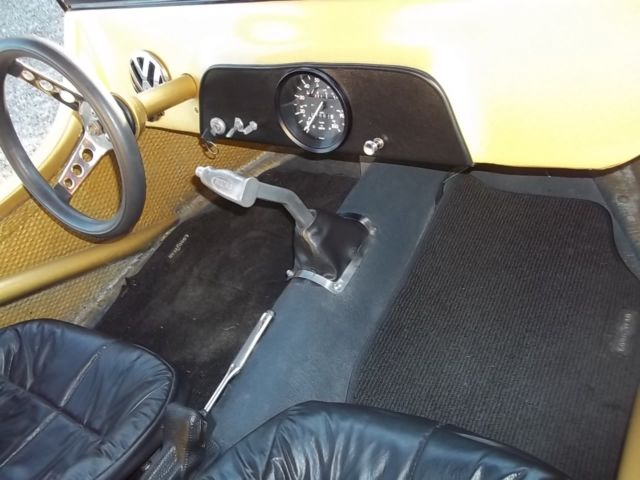 Dune Buggy Vw Beetle Chassis With S Body Amp Dolly Clear Title Volkswagen
