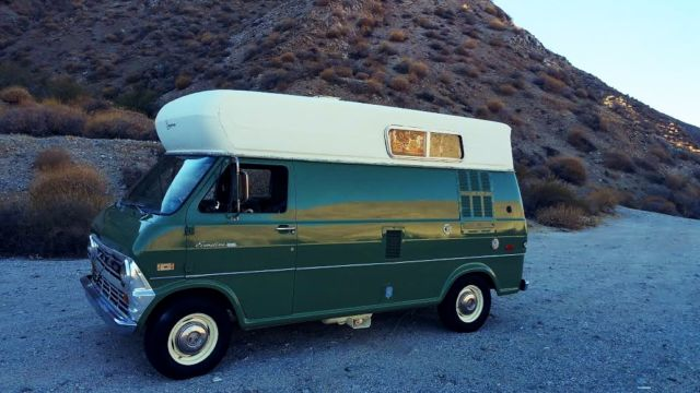 403b60dc80c72b E200 FORD ECONOLINE CAMPER VAN-FUNCTION GALLEY-COMFORTABLE! 1971 1972 1973  1974 for sale - Ford E-Series Van NICE