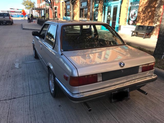 E21 Bmw 1979 323i Rare Bbs Package Gray Mkt Euro Bumper