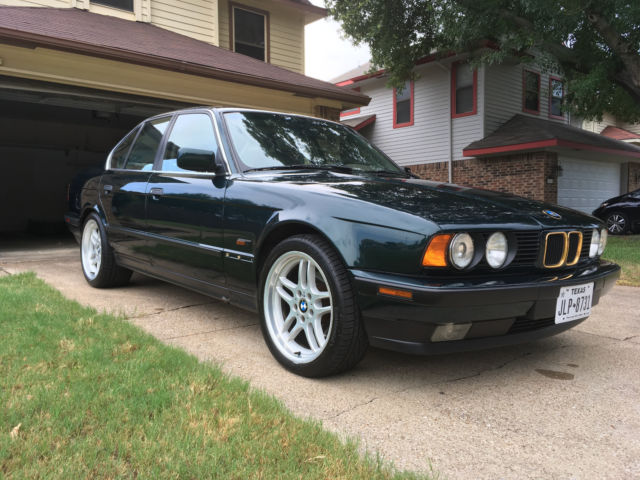 e34 525i sedan automatic with m parallels 18 oem wheels for sale bmw 5 series 1994 for sale. Black Bedroom Furniture Sets. Home Design Ideas