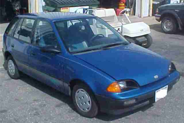 Electric 120 Volt 1991 Geo Metro For Sale