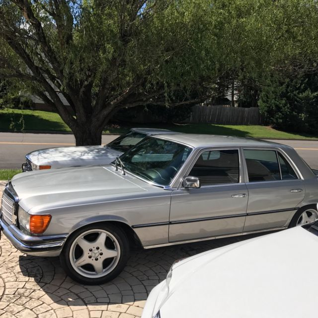 euro gray market import 1979 mercedes 450se very rare desirable w amg wheels for sale. Black Bedroom Furniture Sets. Home Design Ideas