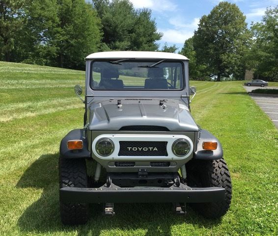 Toyota Fj40 Hardtop For Sale: EXPENSIVE 73 CUSTOM FJ40 MEGA LAND CRUISER NEW MECHNICALS