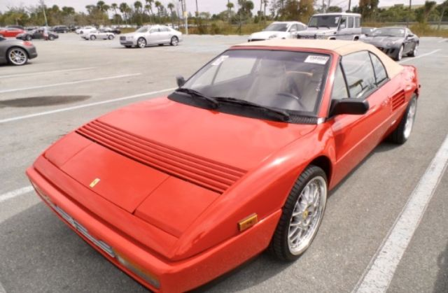 ferrari mondial t 1992 22k miles recent service very rare and collectible for sale ferrari. Black Bedroom Furniture Sets. Home Design Ideas