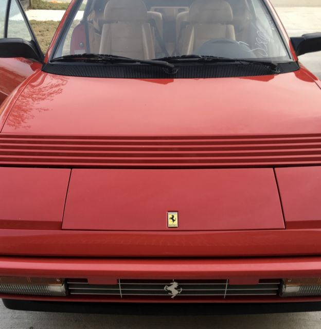 ferrari mondial t 1992 22k miles recent service very rare and collectible for. Black Bedroom Furniture Sets. Home Design Ideas