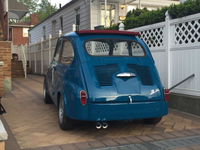 fiat 600 abarth inspired suicide doors for sale fiat 600 600 1962 for sale in staten island. Black Bedroom Furniture Sets. Home Design Ideas